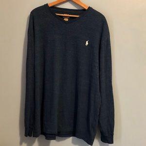 Polo Ralph Lauren Men's Blue Sweater-XL